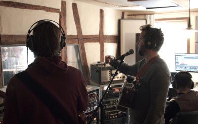 Mit Quiet Lane im Studio