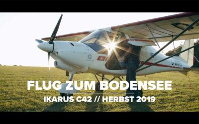 Flug zum Bodensee