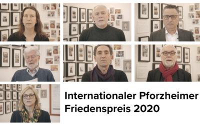 Video-Botschaften Pforzheimer Friedenspreis