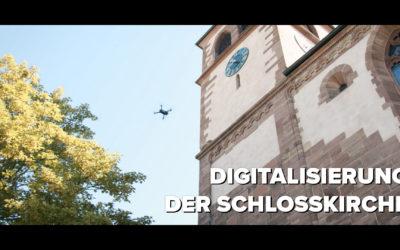 Digitalisierung der Schlosskirche Pforzheim