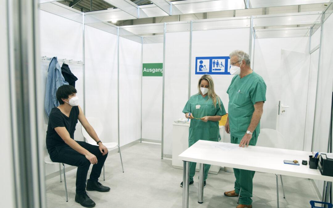 Erklärfilm Kreisimpfzentrum Pforzheim