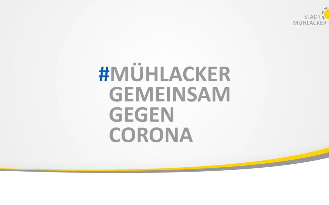 Mühlacker gemeinsam gegen Corona